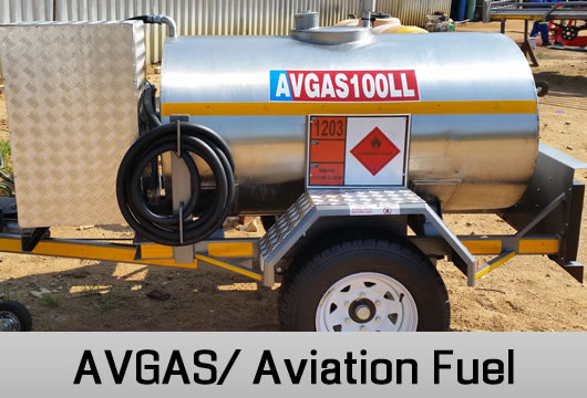 Avgas Aviation Fuel Tanker Trailers